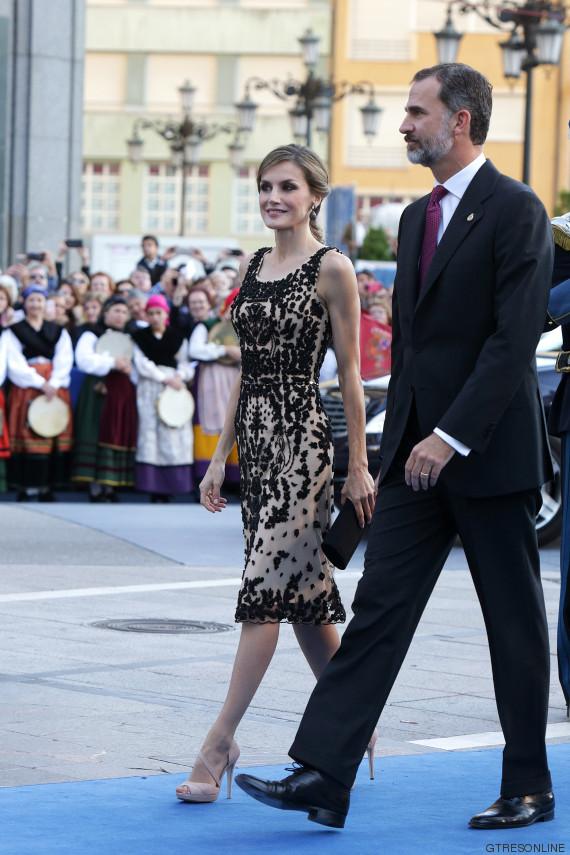 vestido letizia princesa 2016