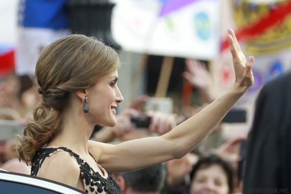 letizia recogido princesa 2016