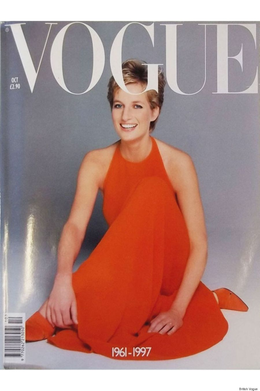 princess diana vogue