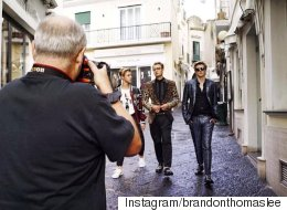 Cindy Crawford And Pam Anderson's Sons Star In D&G Campaign