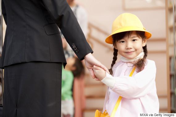 businesswoman daycare