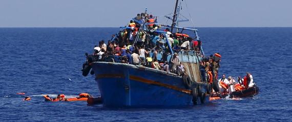 LIBYA REFUGEE BOAT