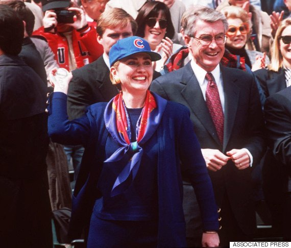 hillary clinton chicago cubs