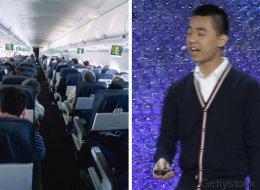 Gefährliche Keime: Ein Teenager hat eines der größten Probleme in Flugzeugen gelöst