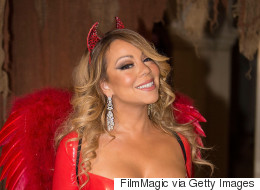 Mariah Carey Donned Devil Costume At Halloween Bash With Ex