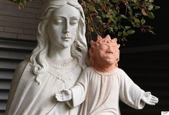 ontario jesus statue