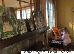 Sophie Grégoire Trudeau Shares Paintings She Made Of Her Kids