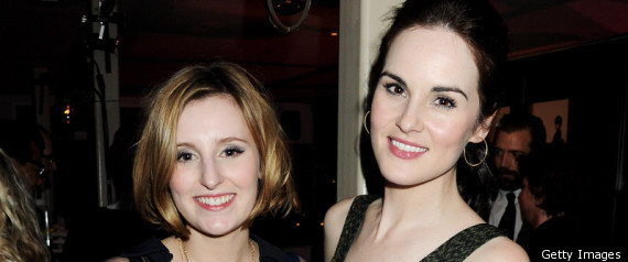 Downton Abbeys Laura Carmichael And Michelle Docke