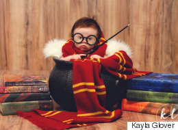 Ce bébé se prend pour Harry Potter
