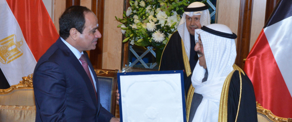 SISI AND THE EMIR OF KUWAIT
