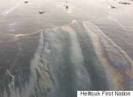 Oil Spill Near Bella Bella, B.C. Called 'An Environmental Disaster'