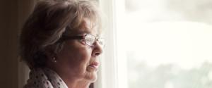 Grandmother Sad