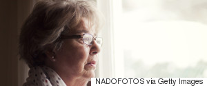 GRANDMOTHER SAD