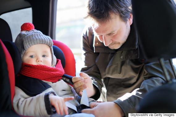 winter car seat