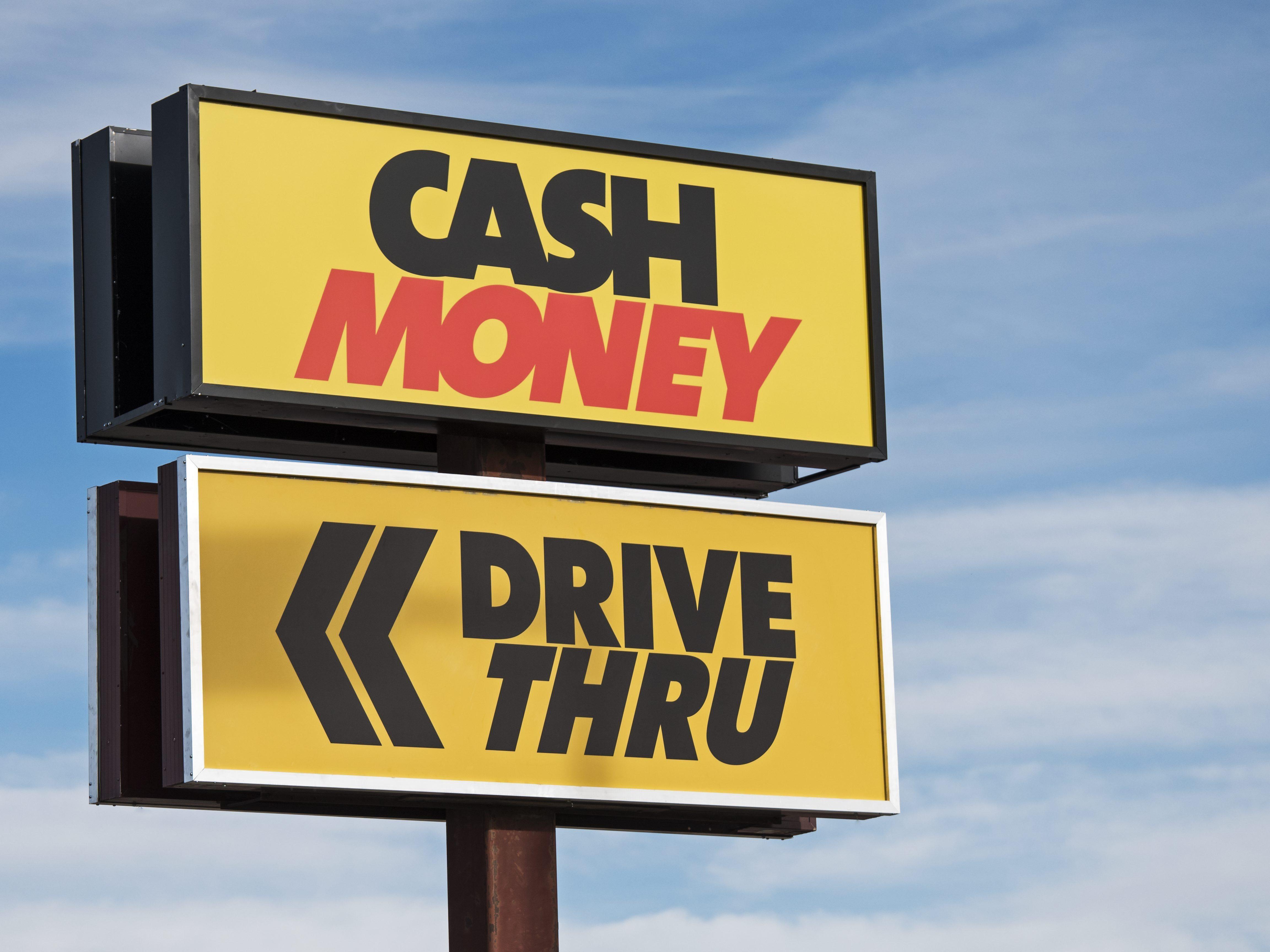 cash money payday lender