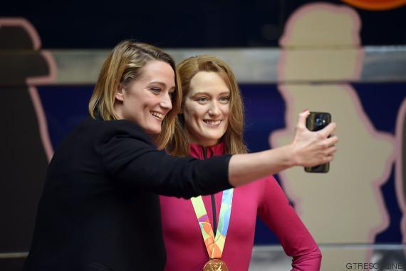mireia belmonte selfie