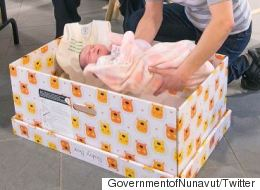 Baby Boxes Arrive In Nunavut To Combat Infant Mortality