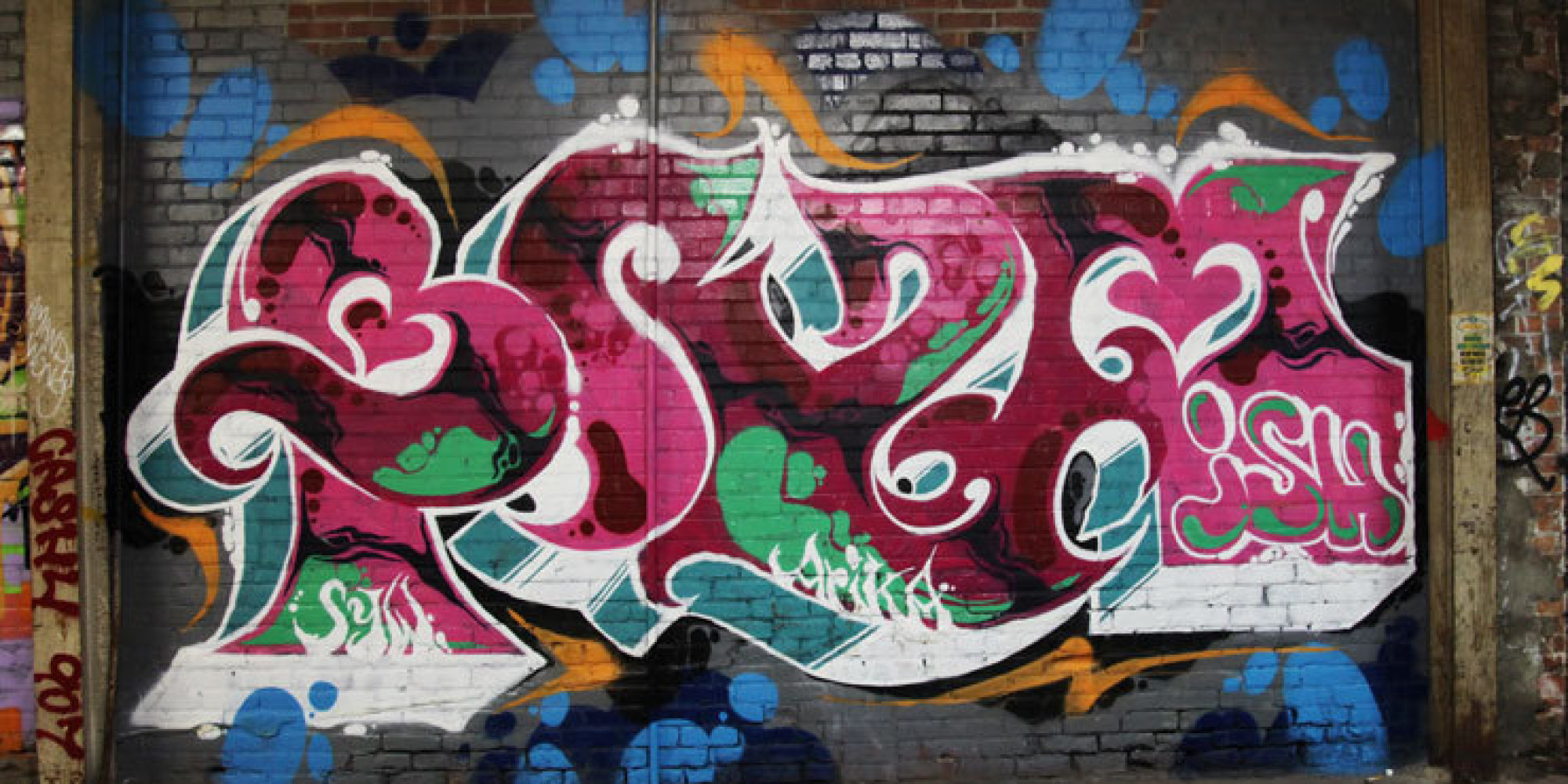 Zayn malik graffiti wall - When Counter Culture Becomes Culture Wastedland 2 And Andrew H Shirley Huffpost