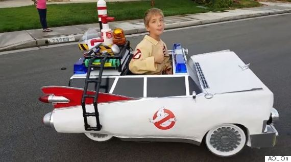 ghostbusters wheelchair costume