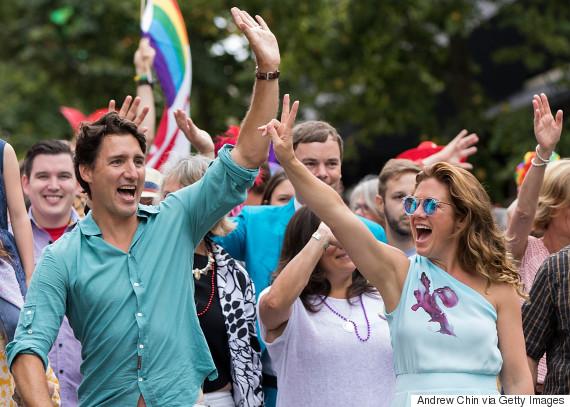 trudeau pride parade