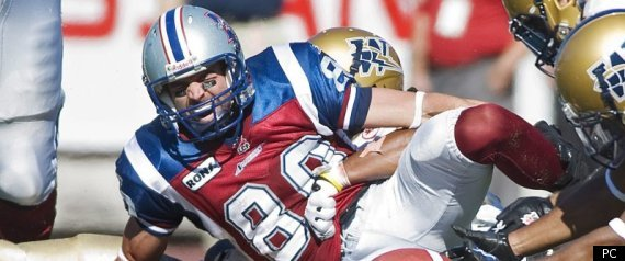 ALOUETTES ERIC DESLAURIERS