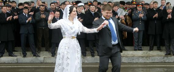 RAMZAN KADYROV DANCING