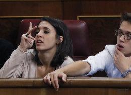 El gesto de Irene Montero (Podemos) a Hernando (PP) que ha dado de qué hablar