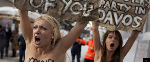 Topless Protest