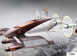 Les voitures volantes, nouvelle obsession d'Uber