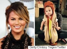 Chrissy Teigen Can't Stop Dressing Up Baby Luna For Halloween