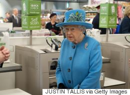 The Queen Visits A Supermarket And Her Expressions Are Priceless