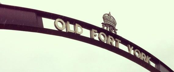 FORT YORK ARMOURY