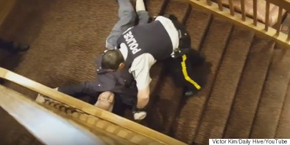 coquitlam rcmp arrest
