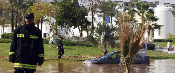 FLASH FLOODS IN EGYPT