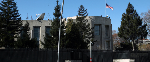 THE US EMBASSY IN TURKEY