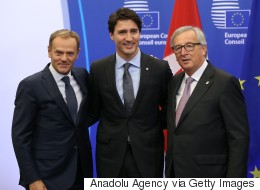 'Great Day For Europe' As Trudeau Signs Trade Deal