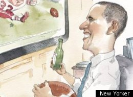New Yorker Super Bowl Cover