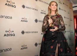 Ce que Céline Dion a dit dans la salle de presse du Gala de l'ADISQ