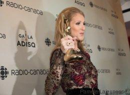 Céline Dion émouvante en acceptant le prix pour René