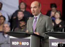 Sparks Fly At NDP Leadership Debate Over Liberal Partnership
