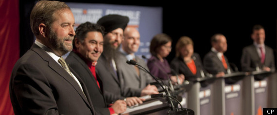 NDP LEADERSHIP DEBATE
