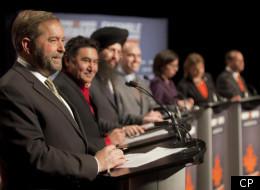 NDPers Gang Up On Harper At Leadership Debate