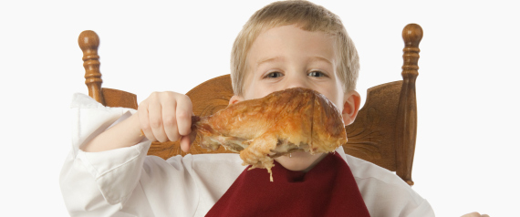 CHILD EATS