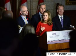 CETA Sends Clear Message To World: Trade Minister