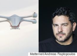 Από τον Βύρωνα στη Σίλικον Βάλεϊ: Ανδρέας Ραπτόπουλος, ο Έλληνας που ίδρυσε εταιρεία για παραδόσεις πακέτων από drones
