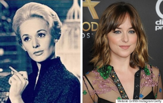 tippi heden dakota johnson