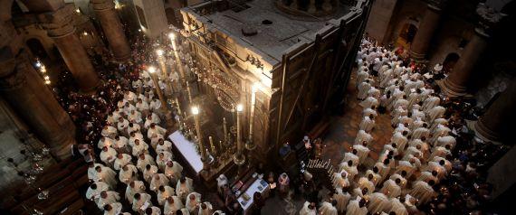 HOLY SEPULCHRE JERUSALEM GALI TIBBON