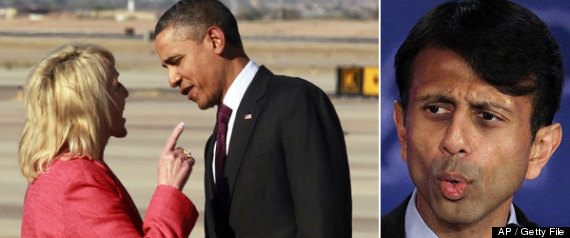 Jan Brewer Barack Obama Bobby Jindal