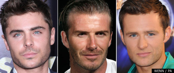 Zac Efron David Beckham Harry Judd