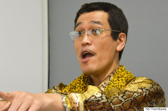 浅草で取材を受けたら、海外からの観光客が口々に「Oh! PPAP!」「Pen,pineapple,apple,pen!」と指を差して反応したという。